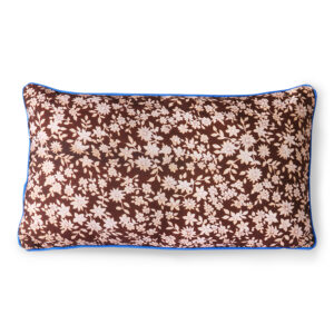 PRINTED CUSHION BROWN