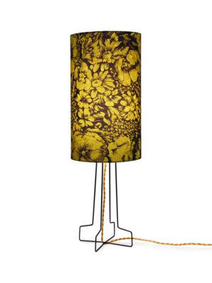 PRINTED CYLINDER LAMPENKAP SHADE FLORAL DORIS FOR HKLIVING VLK2028